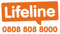 Phone Lifeline on 0808 808 8000