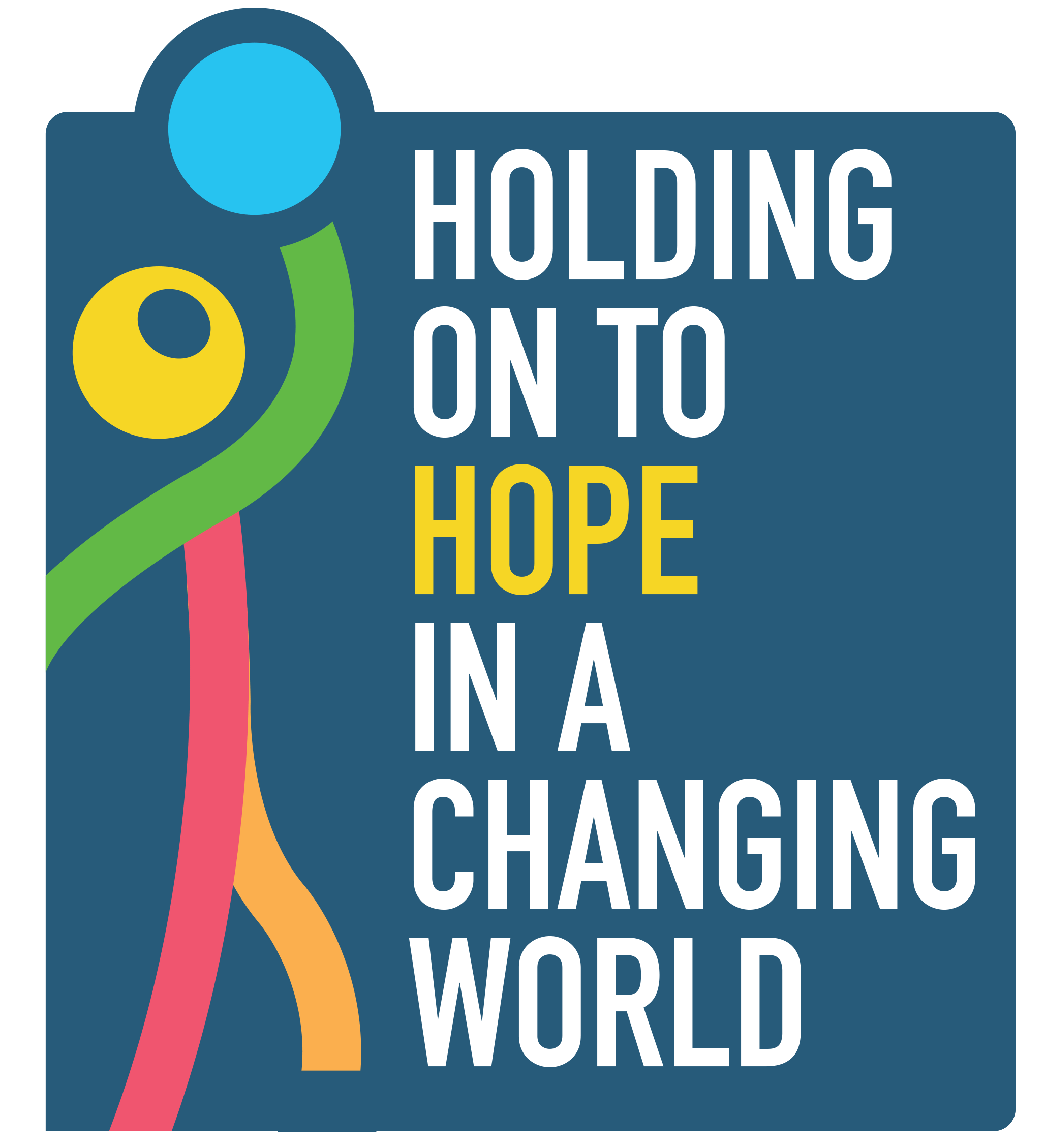Holding on to hope in a changing world campaign logo