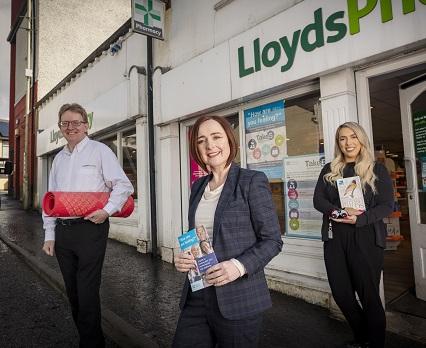 Professor Siobhan O'Neil at Lloyd's pharmacy in Claudy
