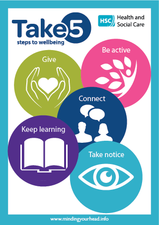 Take 5 leaflet cover